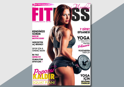 Monthly Fitness / Mart 2015